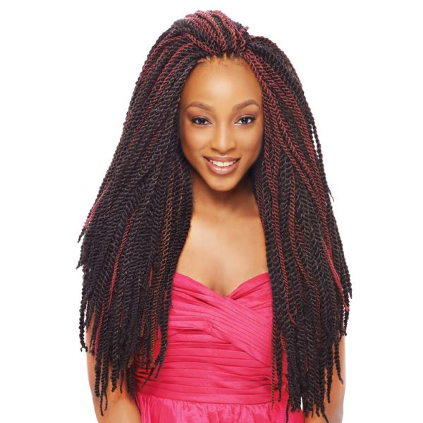 Janet Collection Synthetic Hair Braids 2x Mambo Tantalizing Twist