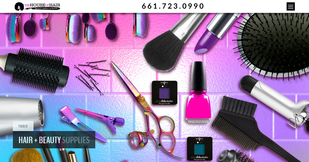 beauty supply hair salon care vip