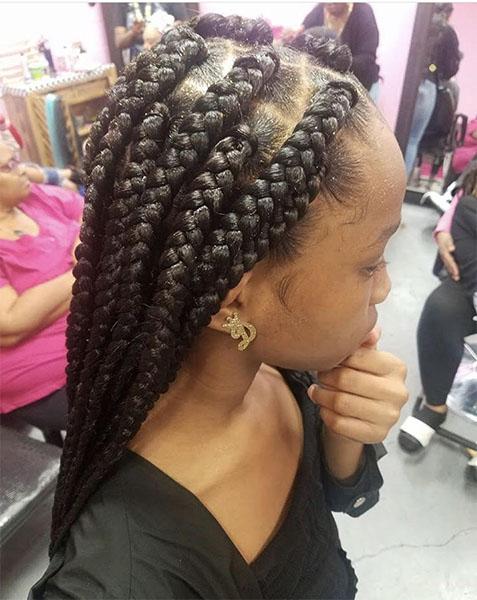 African Hair Braids