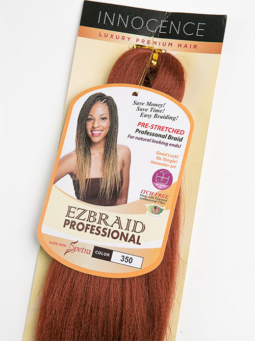EZ Braid Professional Pre-Stretched Hair