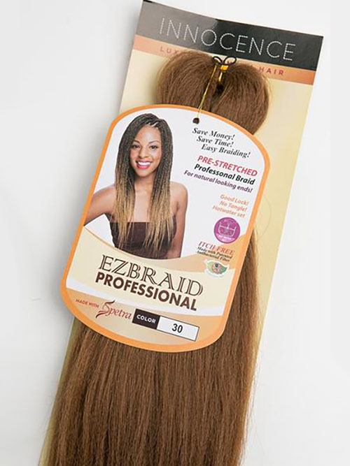 EZ Braid Professional Pre-Stretched Braiding Hair