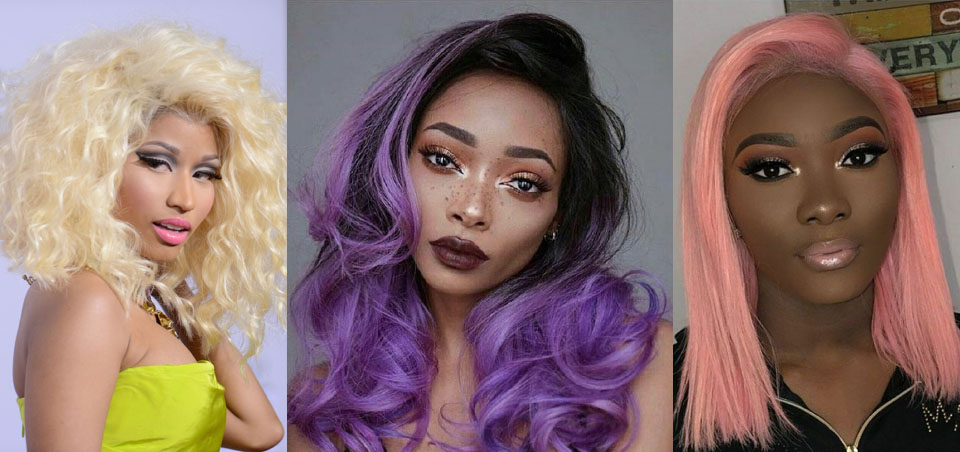 Colorful Hair Bundles