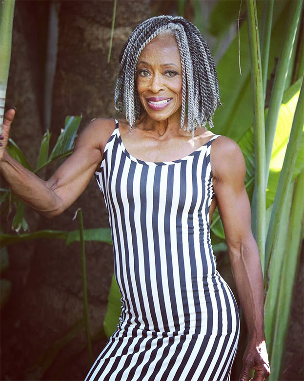 Bodybuilder Ruby Carter Pikes