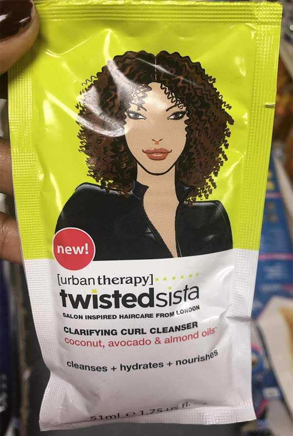 Twisted Sista Clarifying Curl Cleanser product must-haves