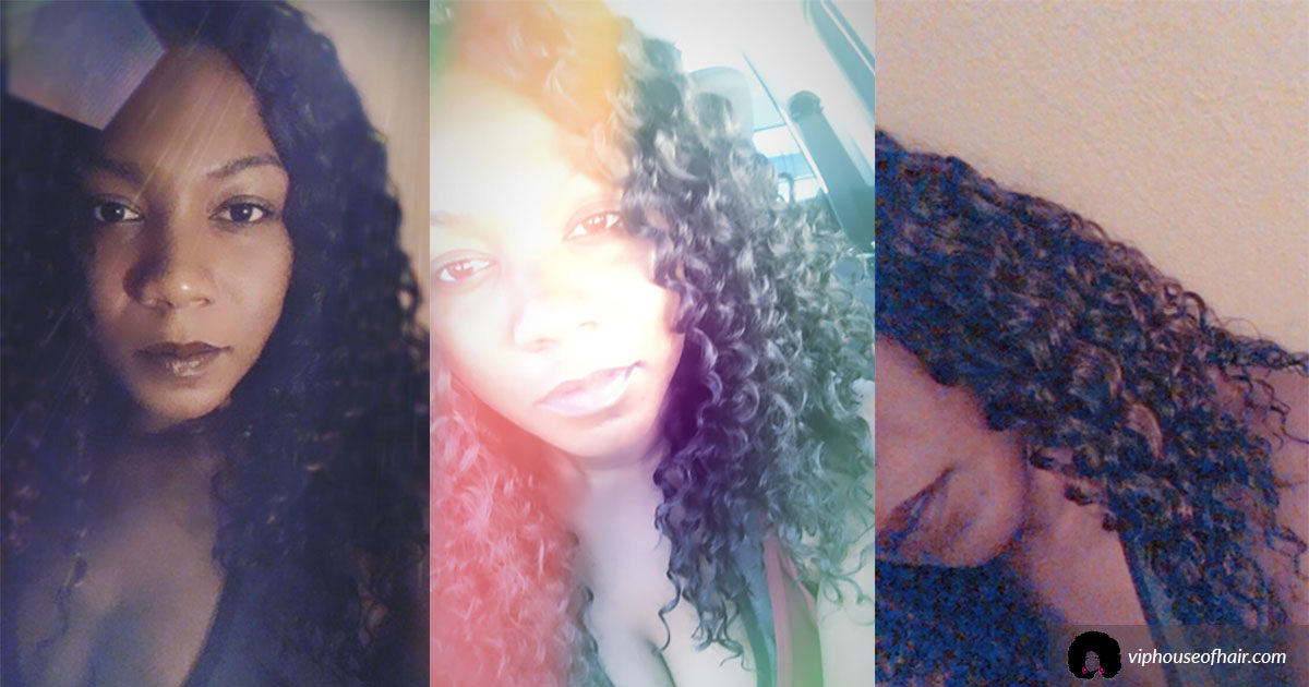 Innocence EZ Crochet Hair Review by VIP House of Hair Blogger
