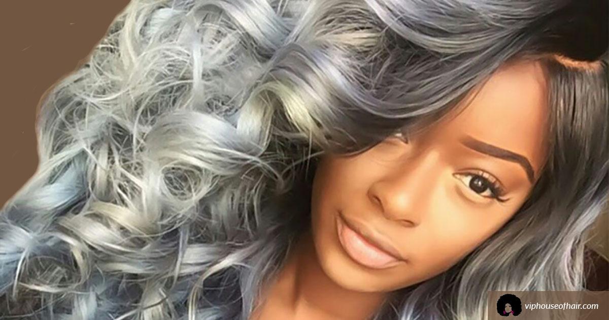 Gray Hair Styles Black Women
