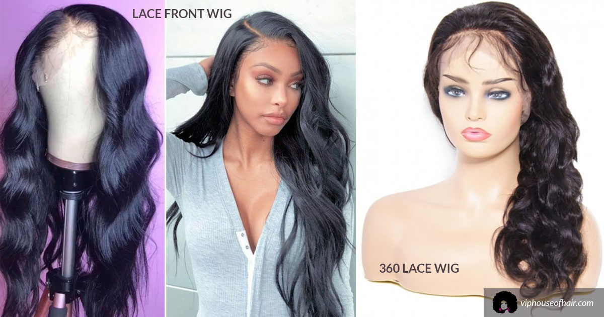 The Difference Between a Lace Front Wig and a 360 Wig