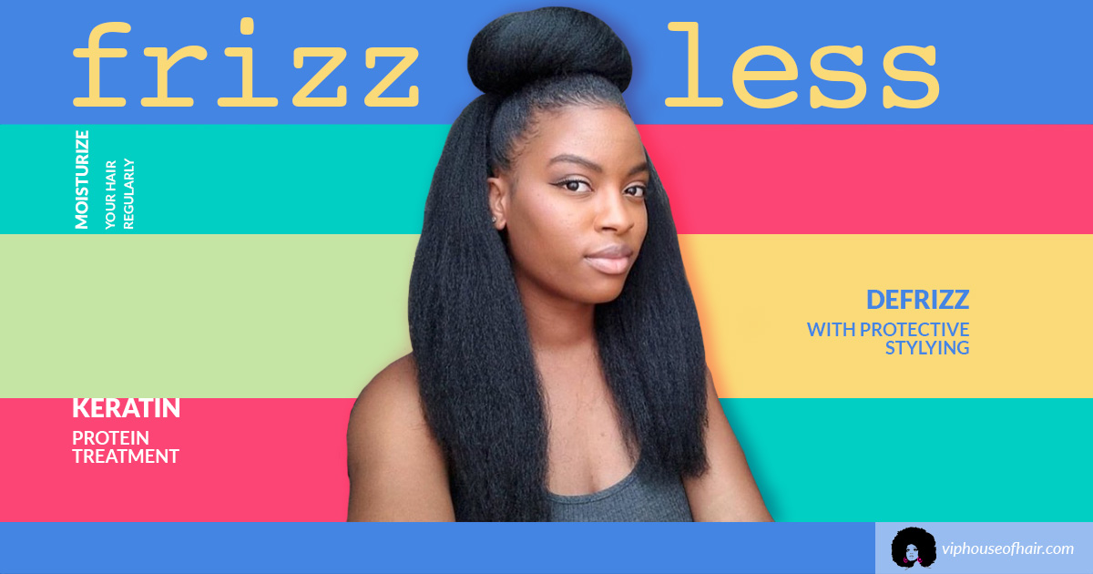 How to Control Frizz on African American Hair