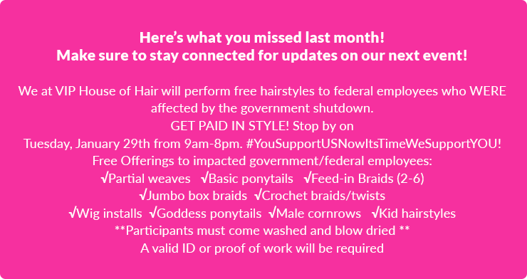 Hairstyles for Federal Employees