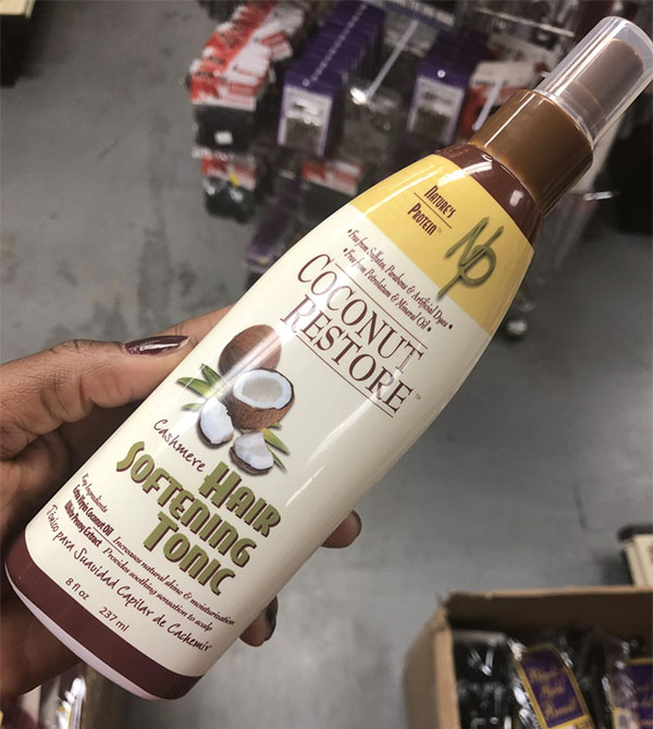 Coconut Restore Cashmere Hair Softening Tonic