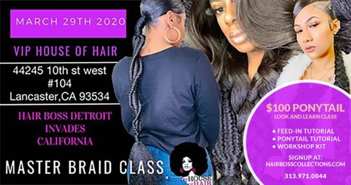 Hair Boss Detroit Invades Lancaster