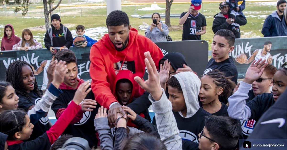 AV's Very Own Paul George Gives Back To His Hometown