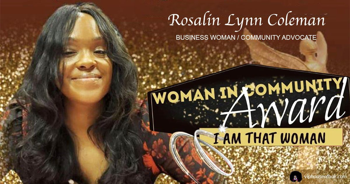"Honoring Our Very Own Wonder Woman: ""I AM That Woman"" Awards"