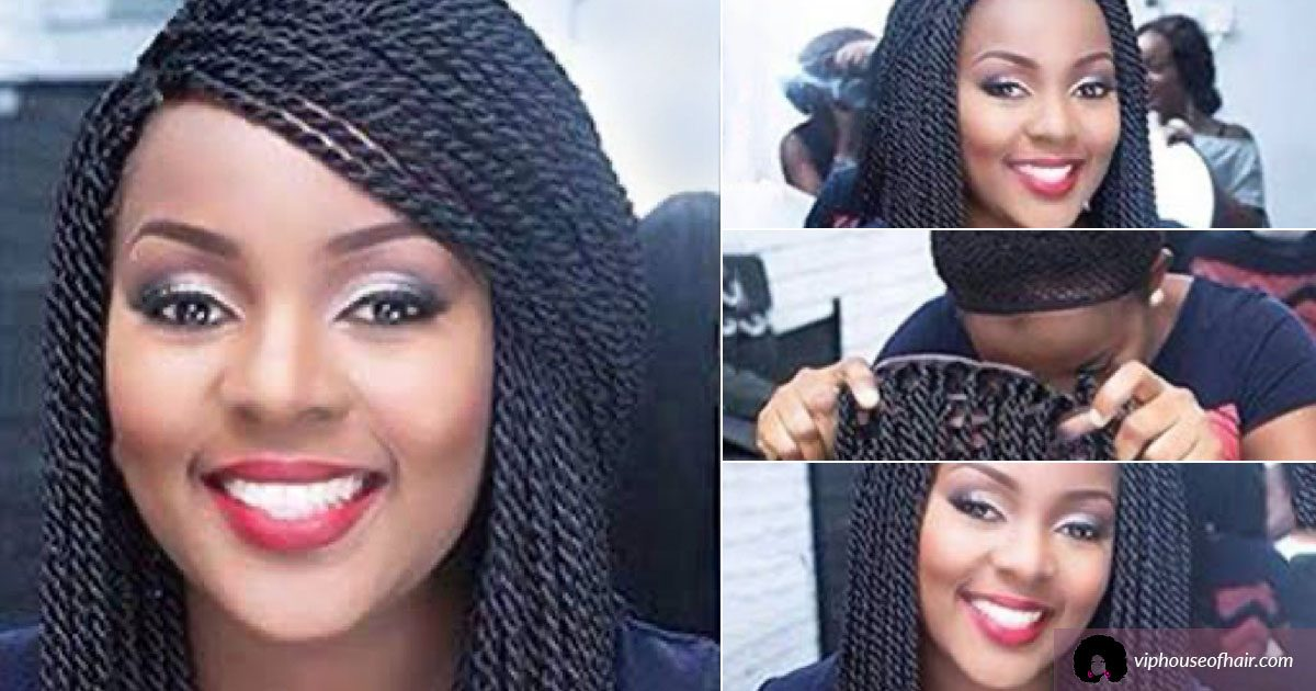 Handmade Nigerian Braid Twist Wigs at VIP House of Hair