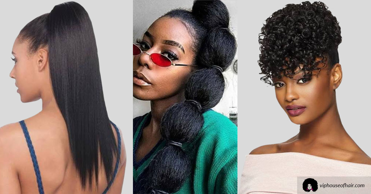 Affordable Synthetic Ponytails Coming to VIP House of Hair!