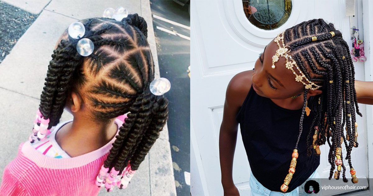 VIP Kids Hair Accessories and Hairstyles