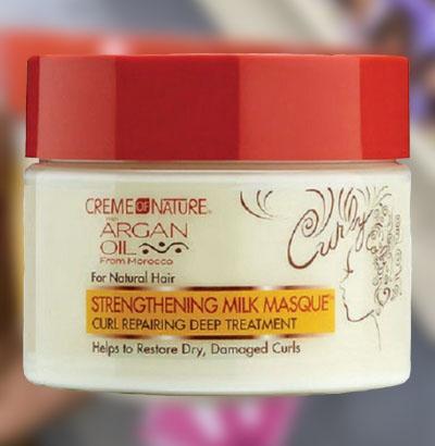 Cream of Nature Strengthening Hair Masque