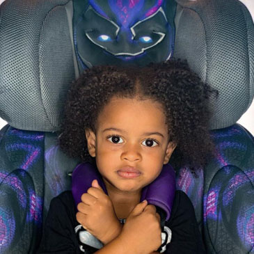 Black Panther Car Seat