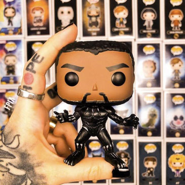 Black Panther Chadwick Boseman Toys