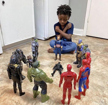 Chadwick Boseman Action Figures