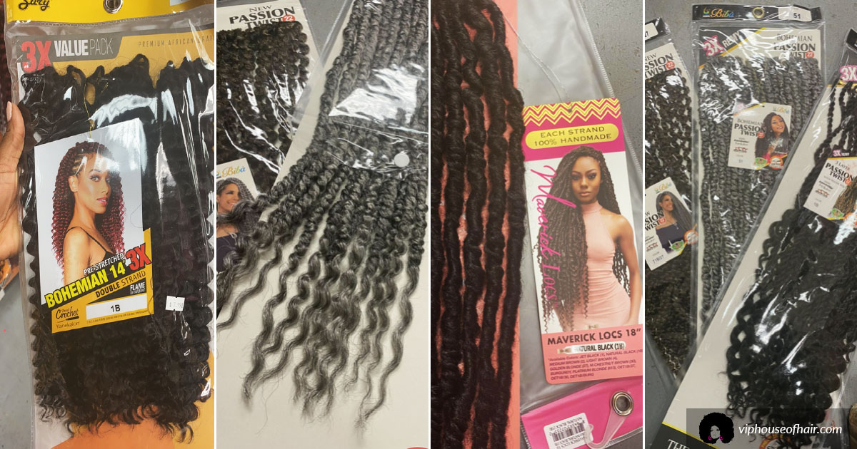 What's New at VIP? - Crochet Braids, Locs & More