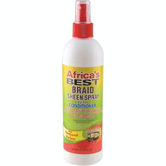 African Best Braid Sheen Spray