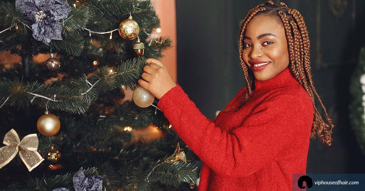 Christmas Hairstyles That SLAY!