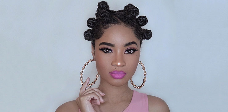 Transition From Relaxed Hair To Natural Hair with Bantu Knots