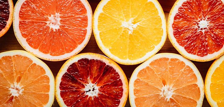 Citrus Fruit Hair Collagen Production