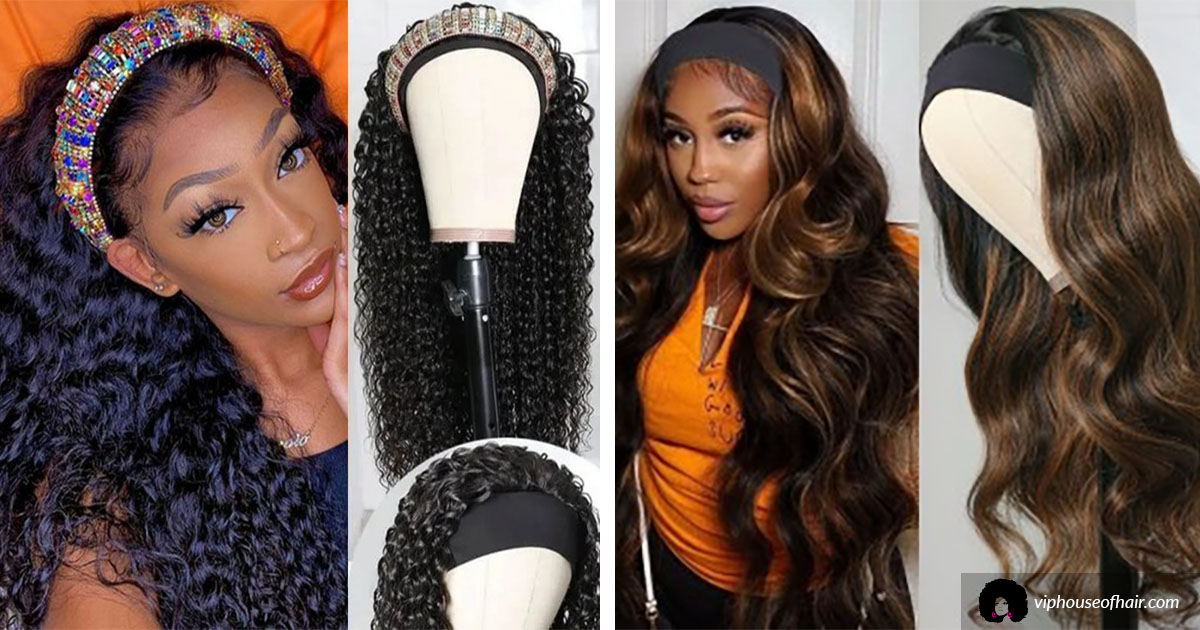 Headband Wigs at VIP House of Hair Beauty Supply