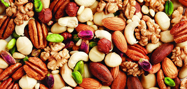 Eat Nuts for Healthy Hair & Scalp