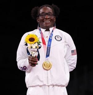 Black Hair at 2021 Summer Olympics